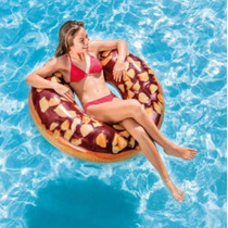 trântor Intex cu gust de nucă Choco DONUT 56262, Intex