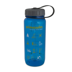 flacon Pinguin Tritan subțire sticlă albastru 2020 650 ml, Pinguin